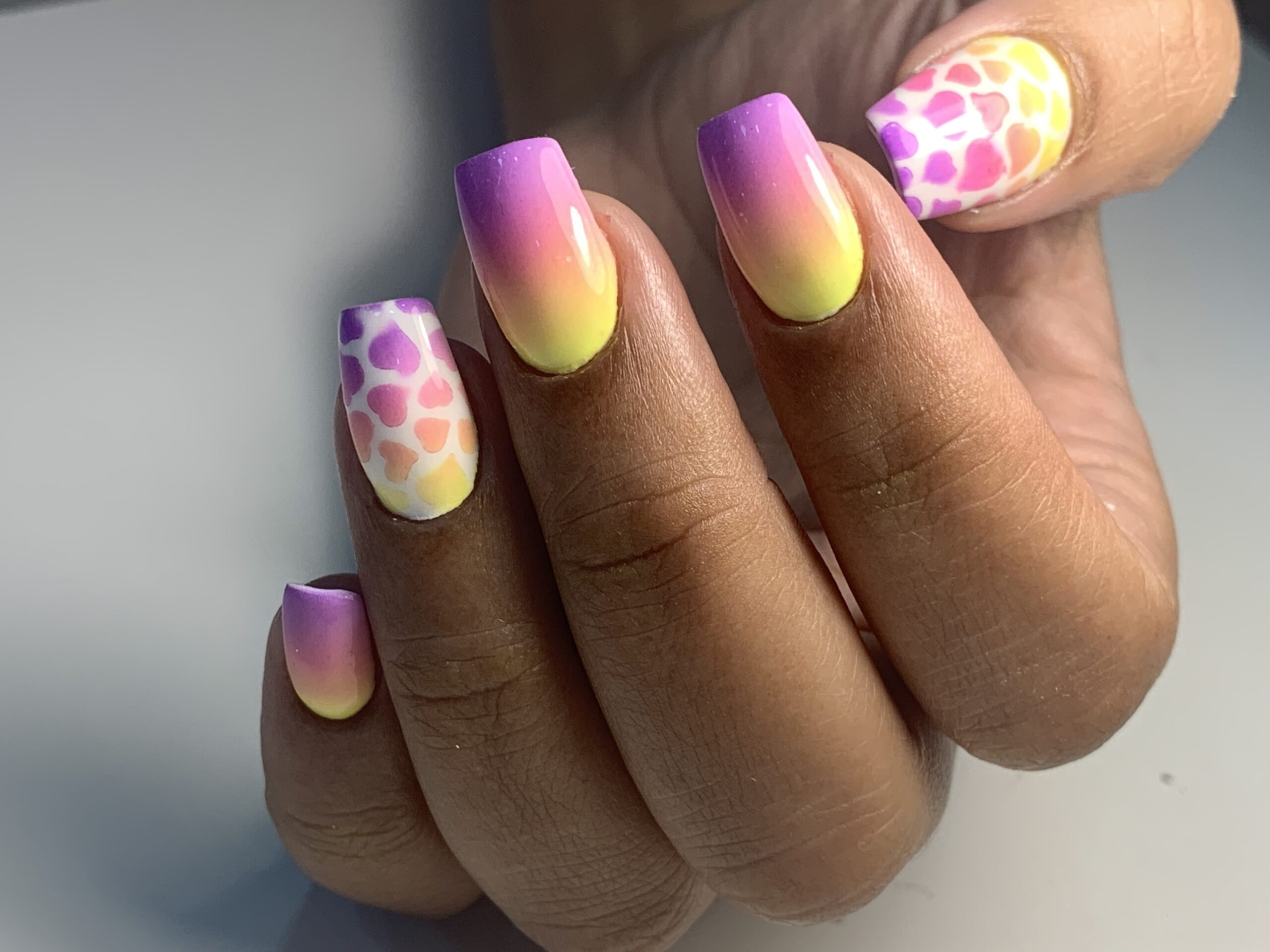 nails color verano