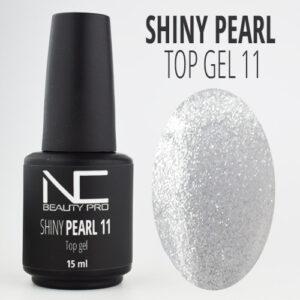 shiny top gel silver